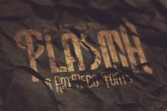 Plasma - ArtDeco Style Font - product preview 4