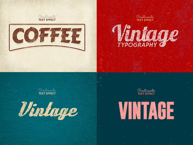 Vintage Retro Text Effects Col 8 - product preview 4