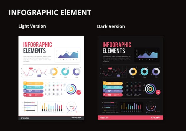 IInfographic Examples for Designer V.44 - product preview 2