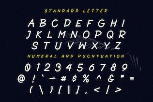 Thumbnail for Blackout - Sans Marker Font