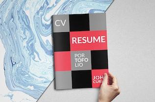 Thumbnail for Creative Resume Booklet - Z