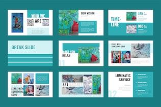 Thumbnail for Luminatic -  Powerpoint Presentation