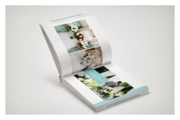 PSD - Minimalist Wedding Album - product preview 6