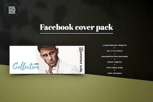 Thumbnail for Fashion Facebook Cover Kit