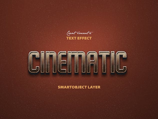 Cinematic 3D Text - product preview 8
