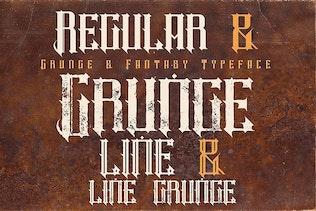 Thumbnail for Timor - Vintage Style Font