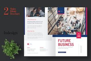 Thumbnail für Clean Startup Bifold Broschüre