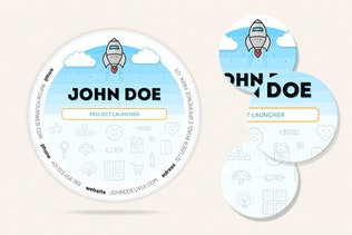 Thumbnail for UX Circle Business Cards