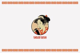 Thumbnail for Shojo Sushi Logo Template