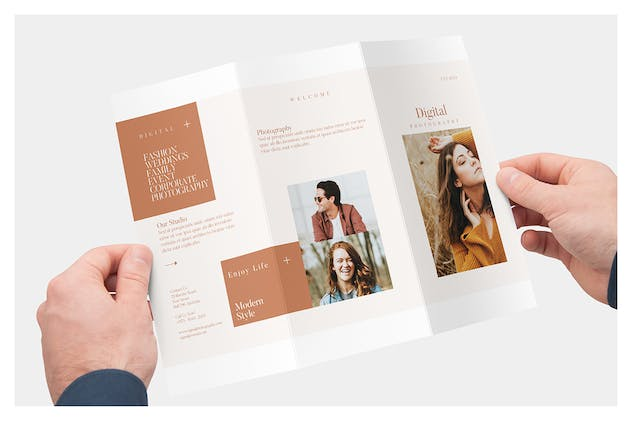 Photography Trifold Brochures - product preview 2