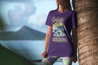 Thumbnail for T-Shirt Mockup Vacation Edition Vol. 3