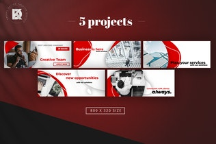 Thumbnail for Business Banners Pack