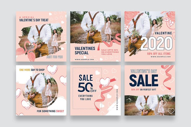 Valentines Instagram Templates - product preview 3