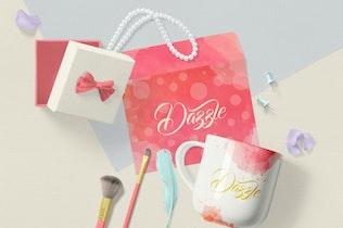 Thumbnail for Gorgeous Card & Envelope Mockup Scenes