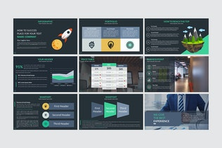 Thumbnail for Jada Presentation Template