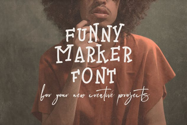 Thunder Handwritten Font - product preview 2