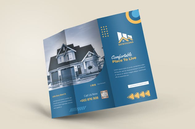 Real Estate Trifold Brochure - product preview 4
