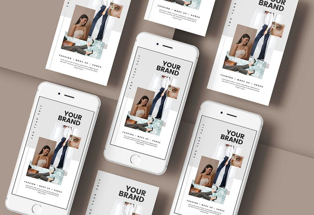 Fashion Sale - Minimal Flyer Media Kit - product preview 3