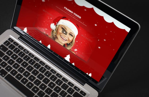 XMuse - Christmas Sale / Promo Muse Template - product preview 3
