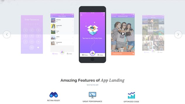 App Promotion   One Page App Promotion Theme - product preview 11