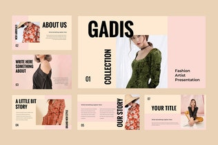 Thumbnail for Gadis - Fashion Keynote Presentation