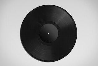Thumbnail for Vinyl Record Album Mock-Ups