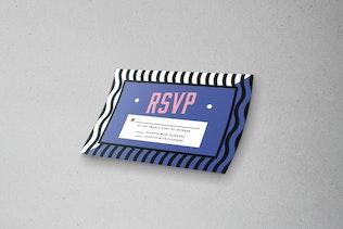 Thumbnail for Memphis Wedding Invitation Set