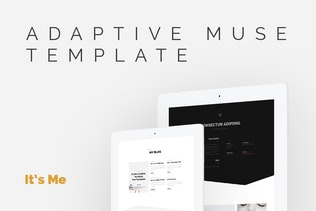 Thumbnail for It's me — Creative Multipage Portfolio Muse Theme