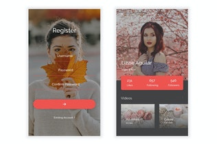 Thumbnail for Ansh - Video Sharing Platform UI Kit
