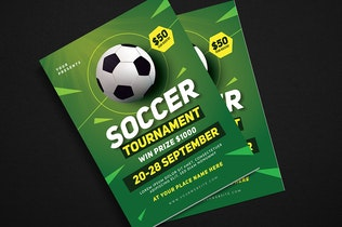 Thumbnail for Soccer Tournament Event Flyer