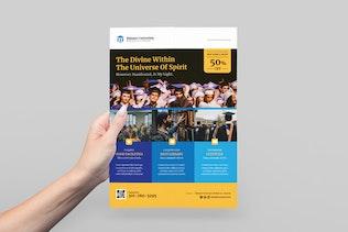 Thumbnail for Education/University Flyer Design