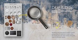 Thumbnail for Kitchen Scene Gen. - Kitchenware & Tools