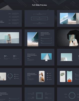 Thumbnail for LINO - Minimal & Business Template (PPTX)