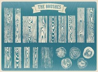 Thumbnail for Wood Grain Brushes