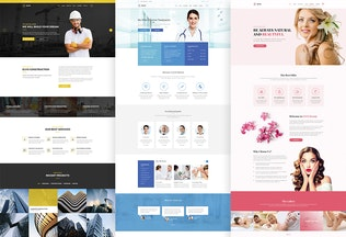 Thumbnail for ELVO – Business Multipurpose PSD Template