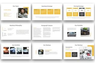 Миниатюра для Hobbs - Многоцелевая презентация Keynote докладов