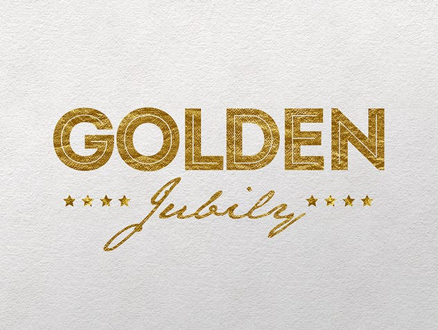 Gold Text Effects 2 - product preview 8