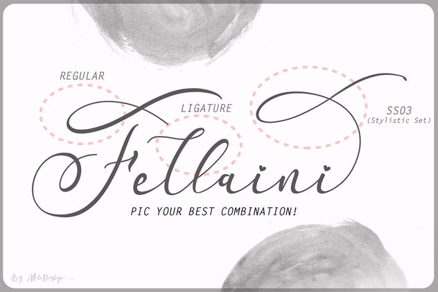 Fradilla - Modern Script Typeface - product preview 4