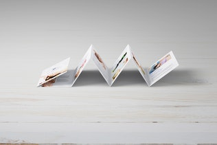 Square Mini Brochure Seven Panel Mockups 01