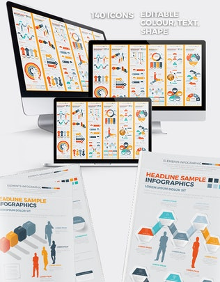 Thumbnail for Business Infographics Design