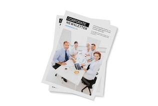 Thumbnail for Corporate Newsletter