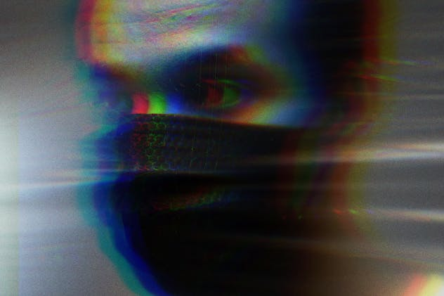 Anaglyph VHS Photo Effect - product preview 3