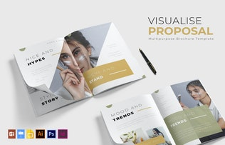 Thumbnail for Visualise | Brochure Template