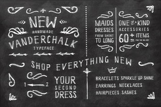 Thumbnail for Vanderchalk typeface