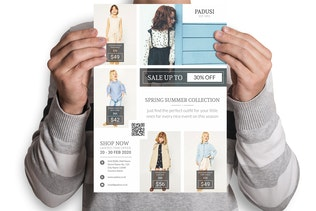 Thumbnail for Padusi : Fashion Marketing Flyer