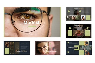 Thumbnail for Modest - Powerpoint Template