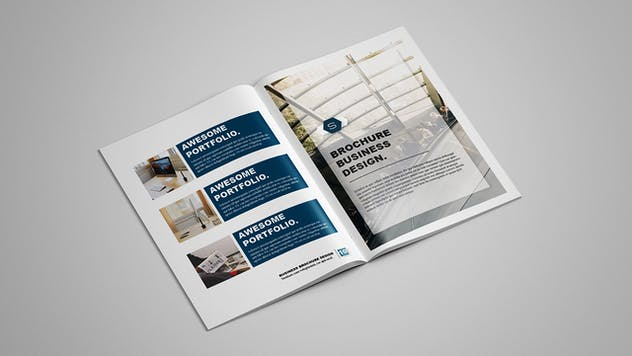 Selected - Business Brochure 12 pages - product preview 6