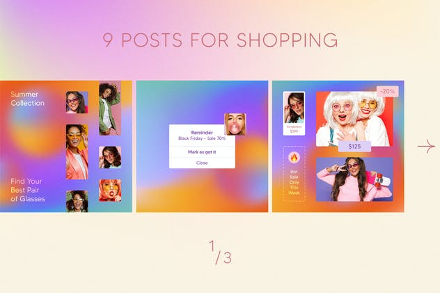 Fashion Instagram Posts - product preview 1