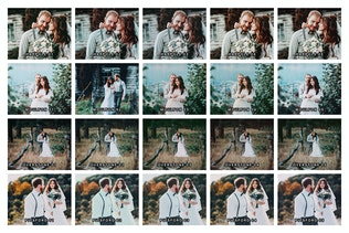 Thumbnail for 20 Rustic Wedding Lightroom Presets and LUTs