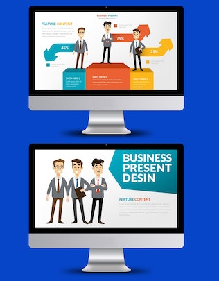 Thumbnail for Business Keynote Presentation Template